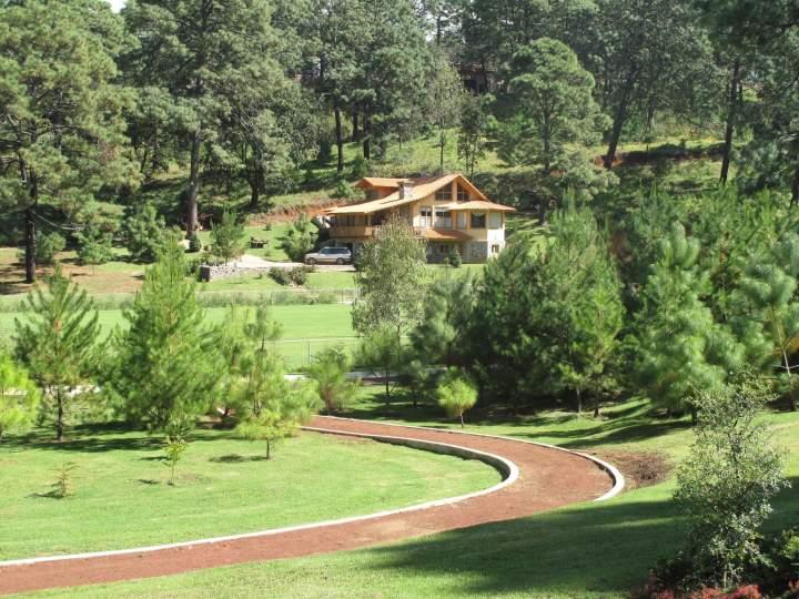 bosque escondido hotel de monta a mazamitla m xico