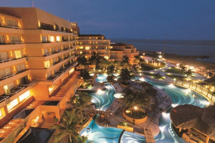 hotel fiesta inn en veracruz: