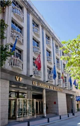 Hotel vp jard n de recoletos madrid espa a pricetravel for Hotel vp jardin de recoletos