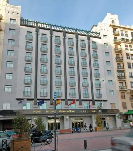 Hotel vp jard n metropolitano madrid espa a pricetravel for Jardin metropolitano madrid