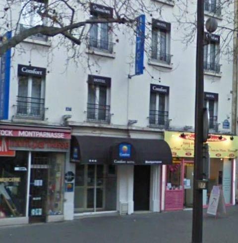 Hotel best western h tel le montparnasse par s francia for Ideal hotel montparnasse