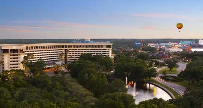 Hotel Hilton Orlando Lake Buena Vista Estados Unidos De