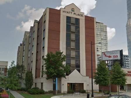 hotel hyatt place atlanta buckhead estados unidos de. Black Bedroom Furniture Sets. Home Design Ideas