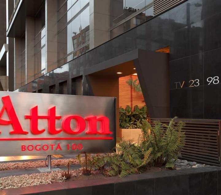 Hotel atton 100 bogot colombia pricetravel for Hotel design 100 bogota