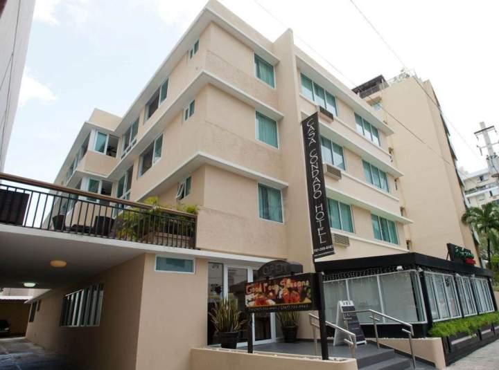 Mapa De Ubicación Del Casa Condado Hotel San Juan Puerto Rico Pricetravel