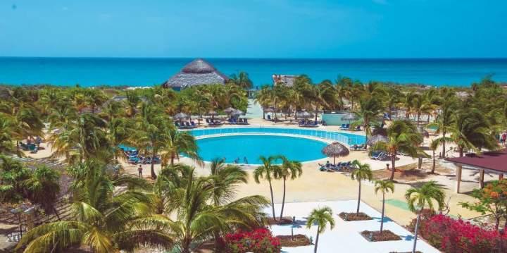 Mapa de ubicación del Hotel Bella Isla Resort, Cayo Largo