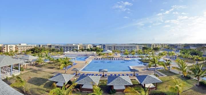 Mapa de ubicación del Hotel Melia Jardines del Rey, Cayo