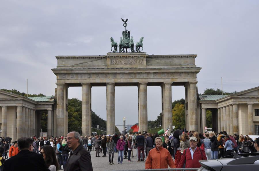 La Puerta de Branderburgo es el ícono más representativo de Berlín