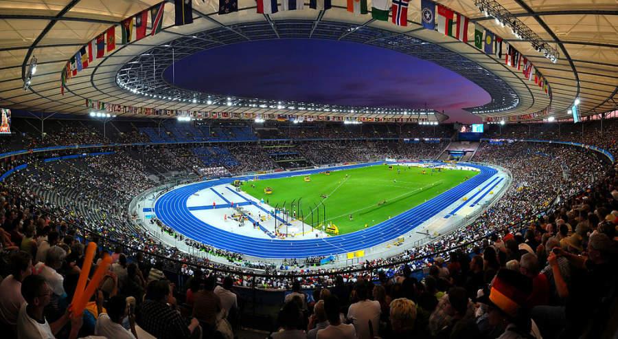 El Estadio Olímpico de Berlín es uno de los centros deportivos más importantes de Europa