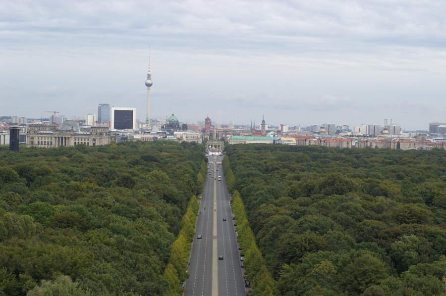 El Tiergarten es el parque principal de Berlín