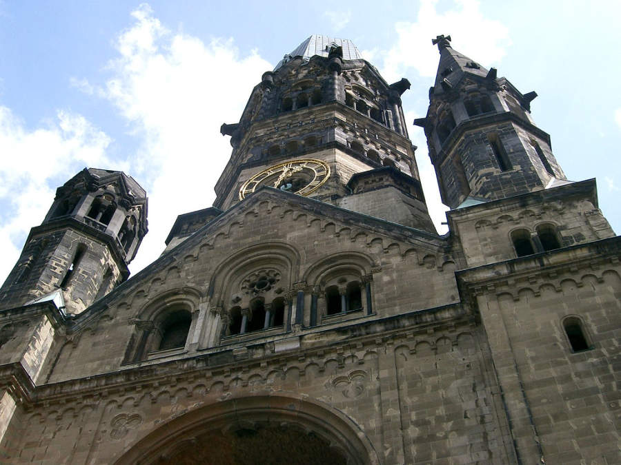 Iglesia Conmemorativa Kaiser Wilhelm en Berlín