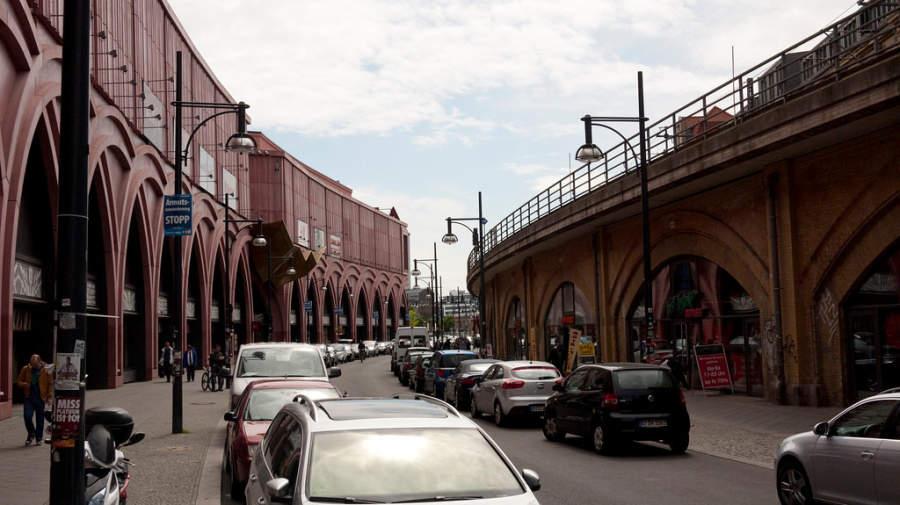 Calle en Berlín