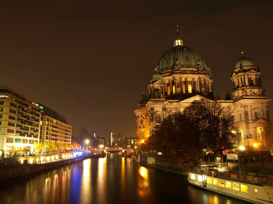 El río Spree es el más largo que pasa por Berlín
