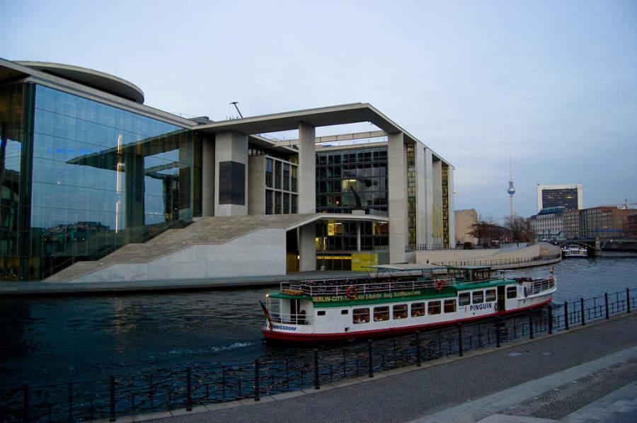 Hay varios ríos que fluyen por la ciudad de Berlín