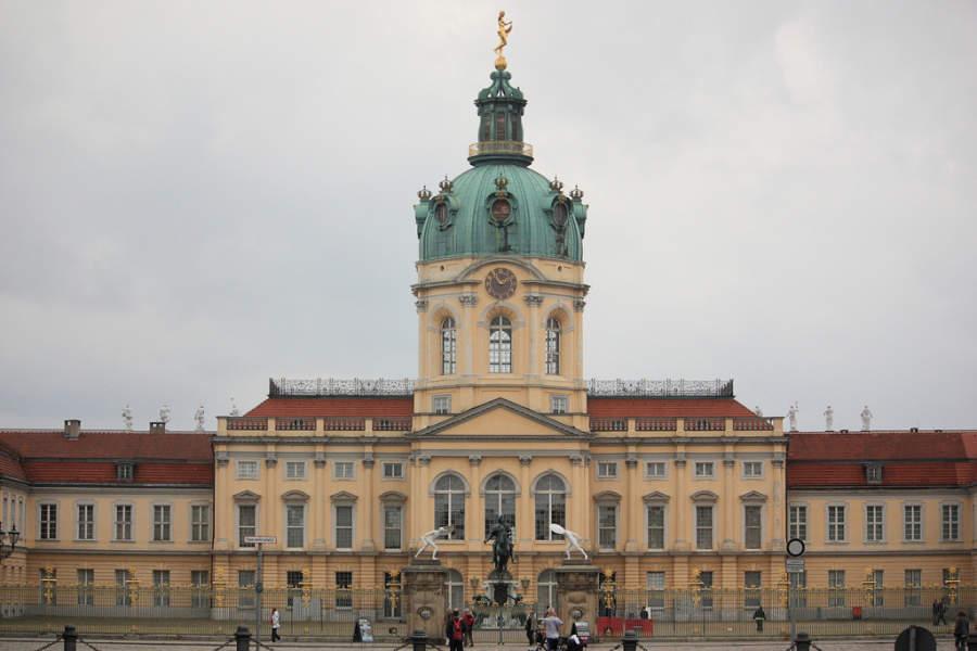 Palacio Charlottenburg, importante edificio histórico de Berlín
