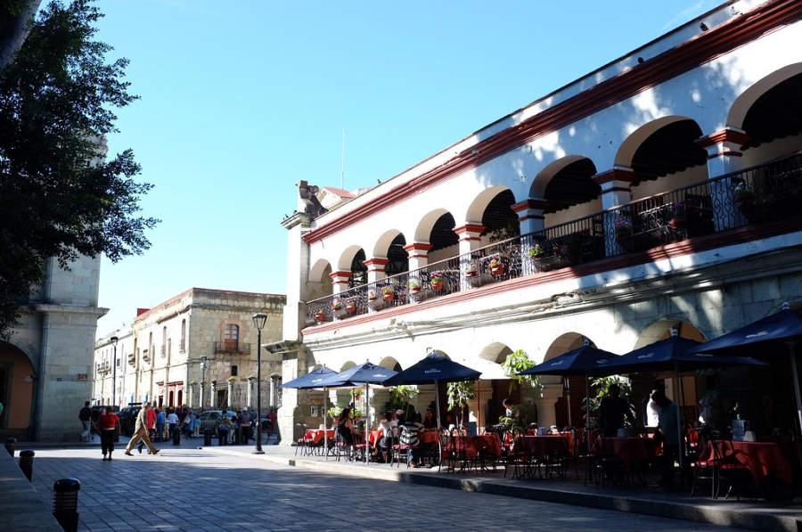 Restaurante en el centro histórico de Oaxaca