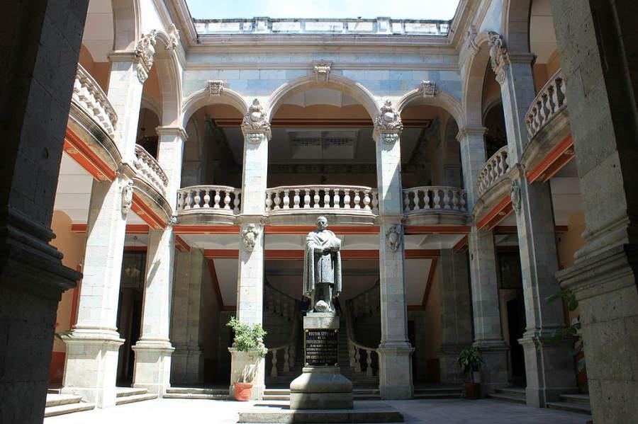 Interior del Instituto de Ciencias y Artes de Oaxaca
