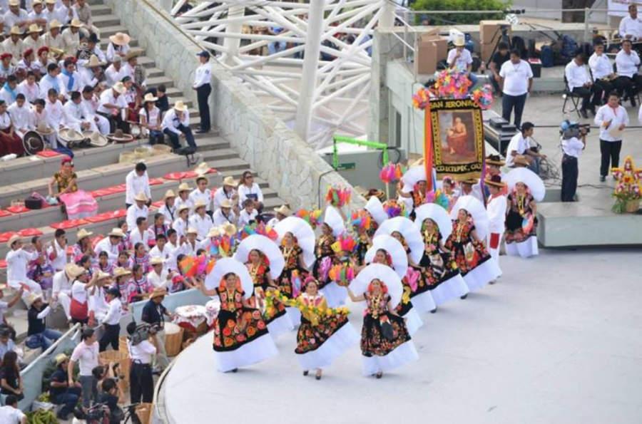 La Guelaguetza se celebra los dos lunes más cercanos al 16 de julio