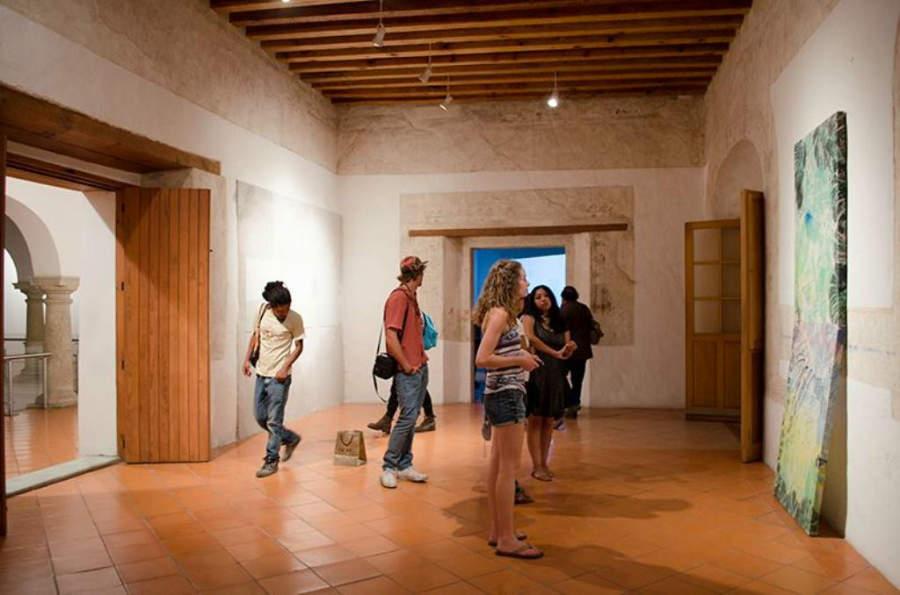 Vista del Interior del Museo de Arte Contemporáneo de Oaxaca