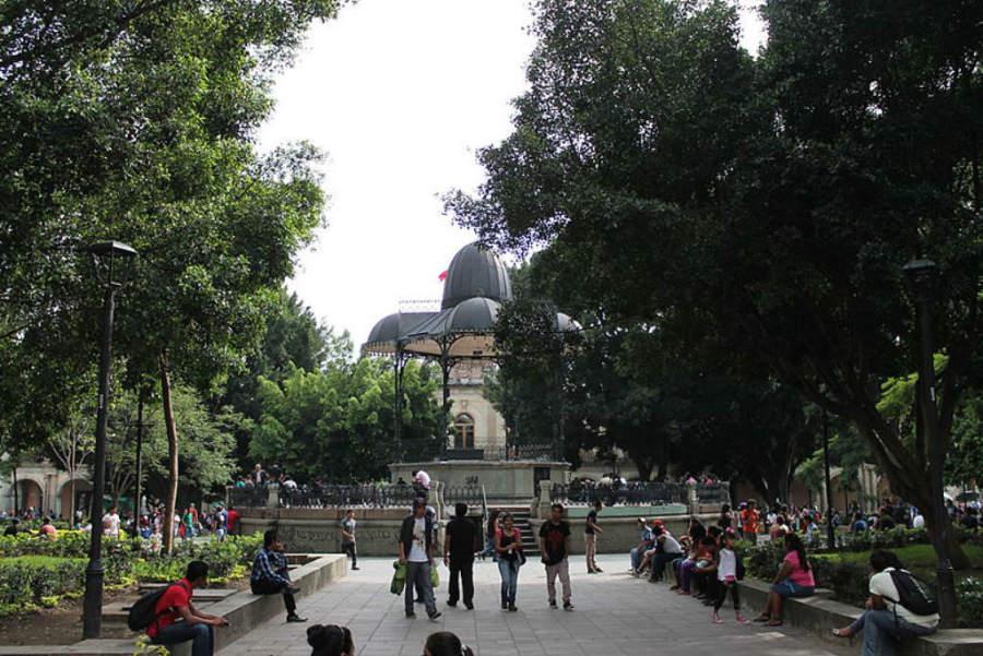 Zócalo de la ciudad de Oaxaca