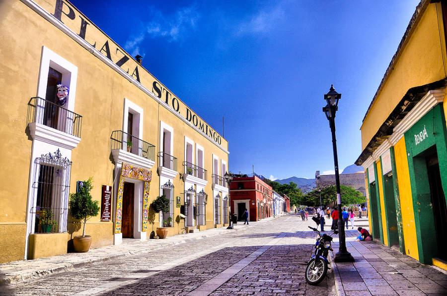 Centro de la ciudad de Oaxaca