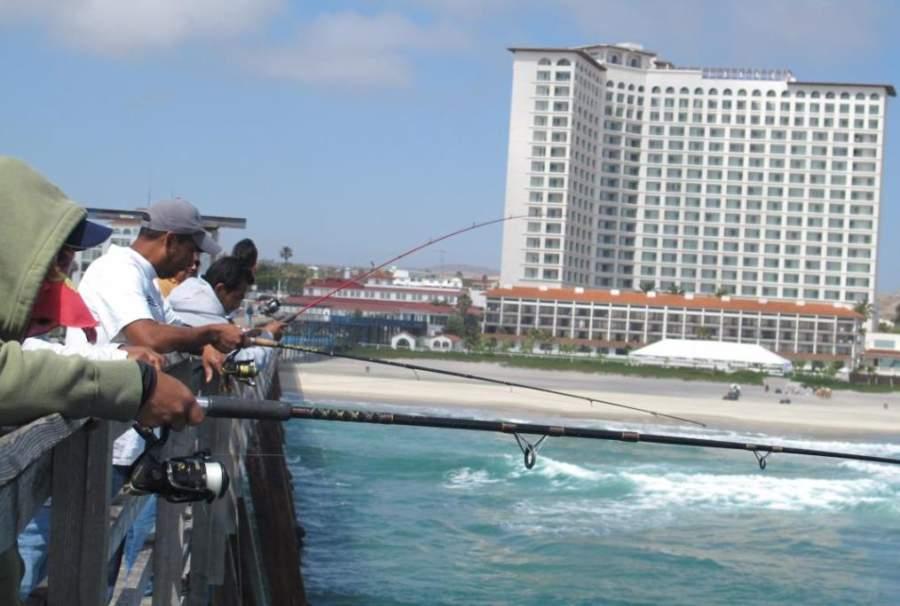 Rosarito Beach Hotel visto desde el mar