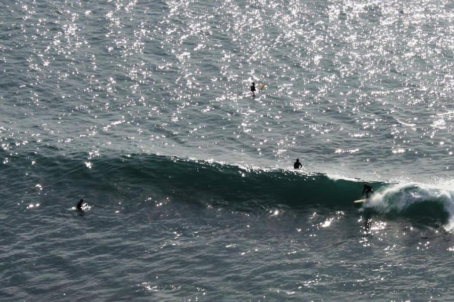 En las playas de Rosarito se puede practicar el surf