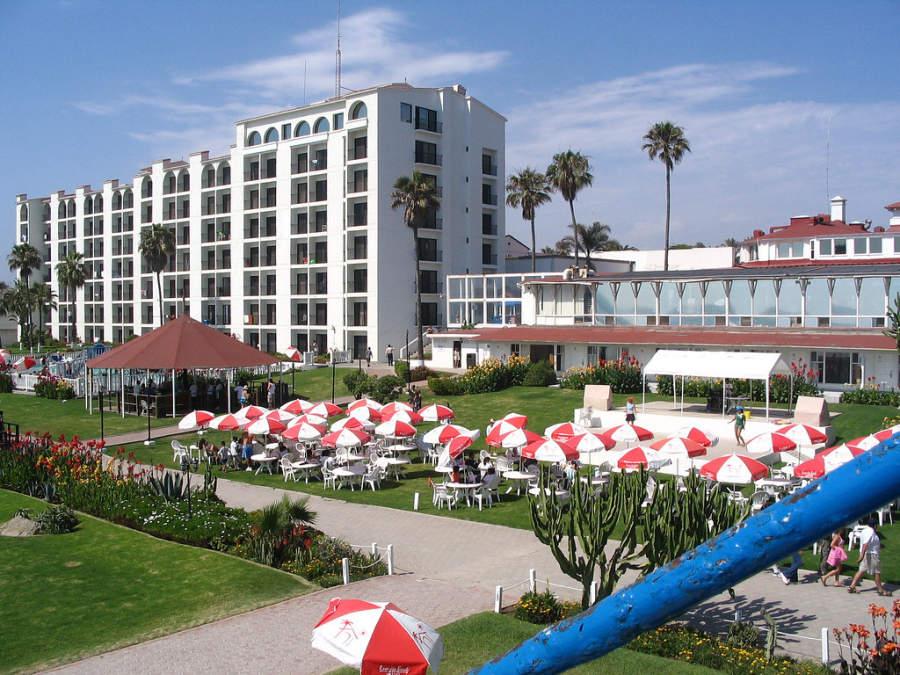 La ciudad de Rosarito cuenta con numerosos hoteles