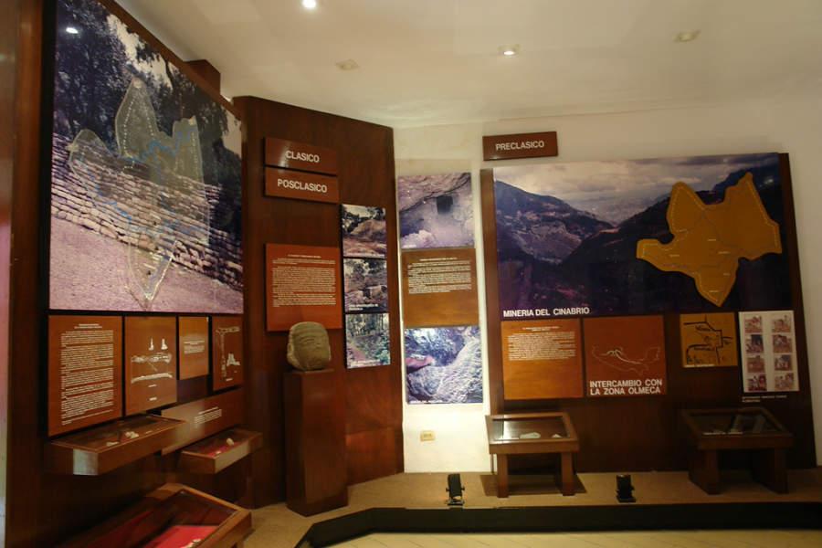 Interior del Museo Histórico de la Sierra Gorda en Jalpan de Serra