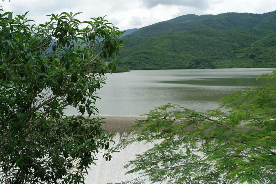 En los alrededores de la Presa Jalpan se pueden hacer caminatas
