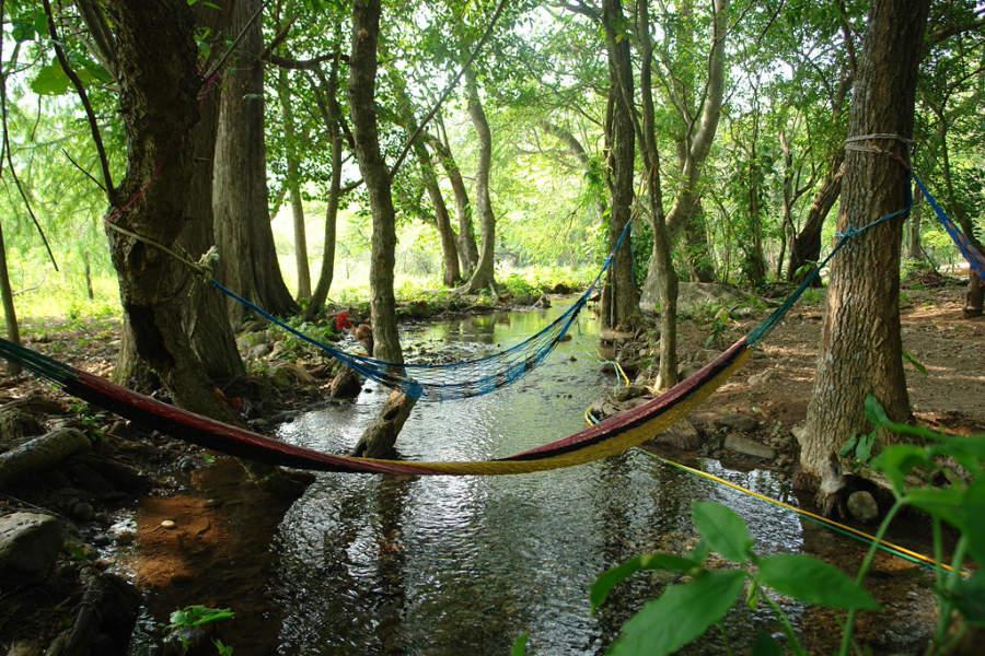 Río Tanchanaquito en la localidad de Valle Verde cerca de Jalpan de Serra