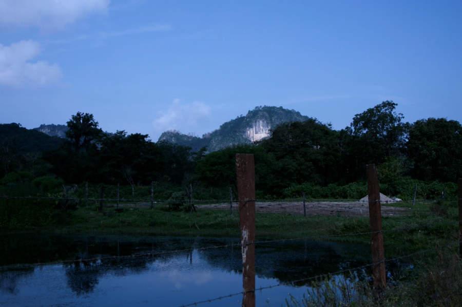 En Valle Verde hay un pequeño río