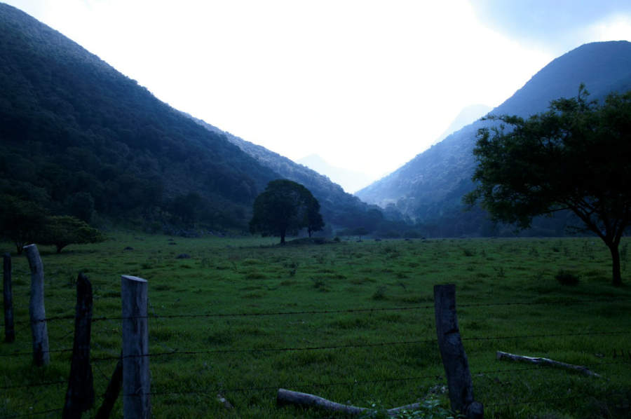 Valle Verde, localidad cercana a Jalpan de Serra