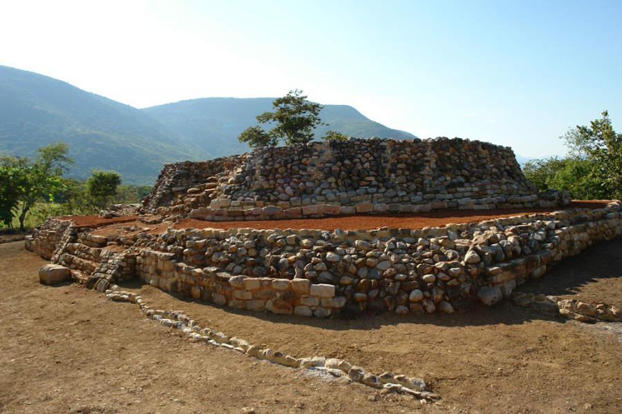 Zona arqueológica de Tancama en los alrededores de Jalpan de Serra