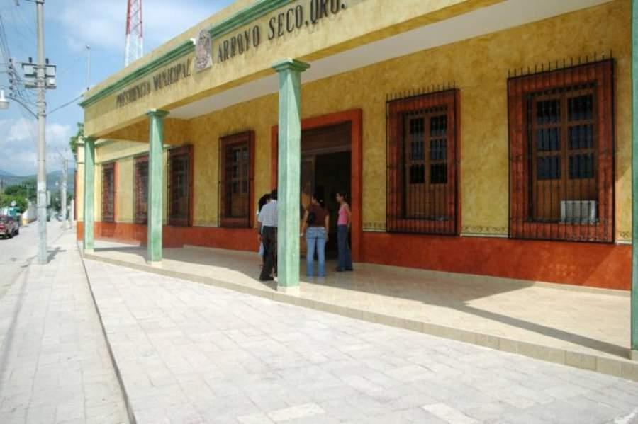 Palacio Municipal en la localidad de Arroyo Seco