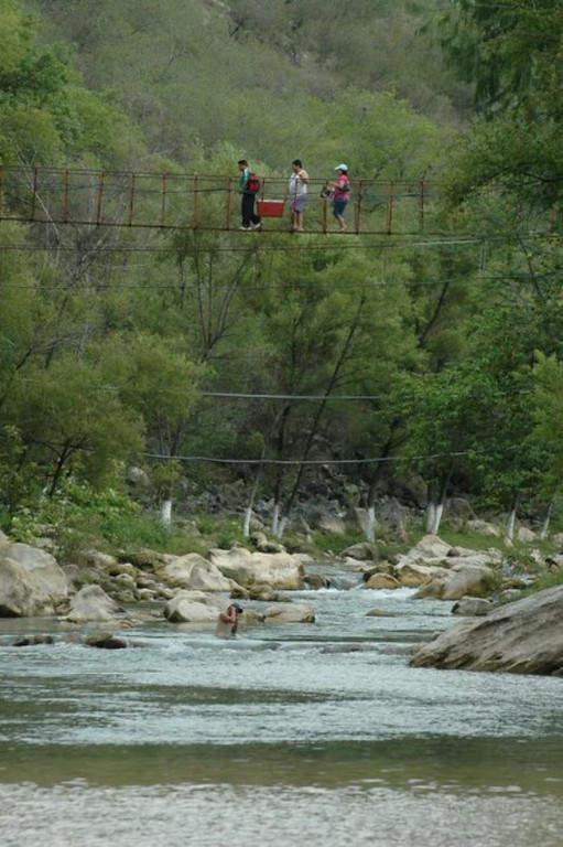 Las inmediaciones de Arroyo Seco son lugares ideales para estar en contacto con la naturaleza
