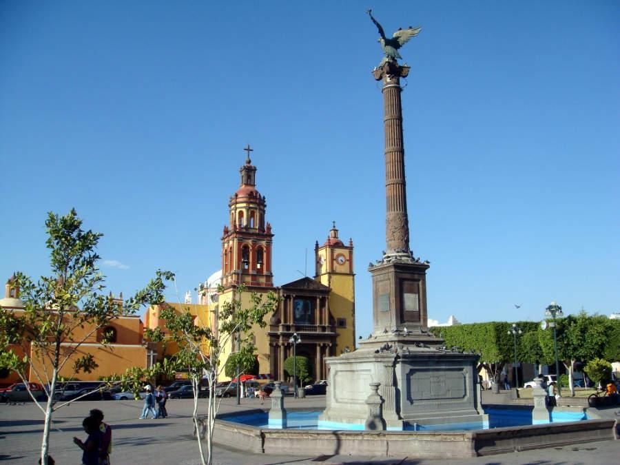 Descubre la columna que conmemora la Independencia de México en San Juan del Río