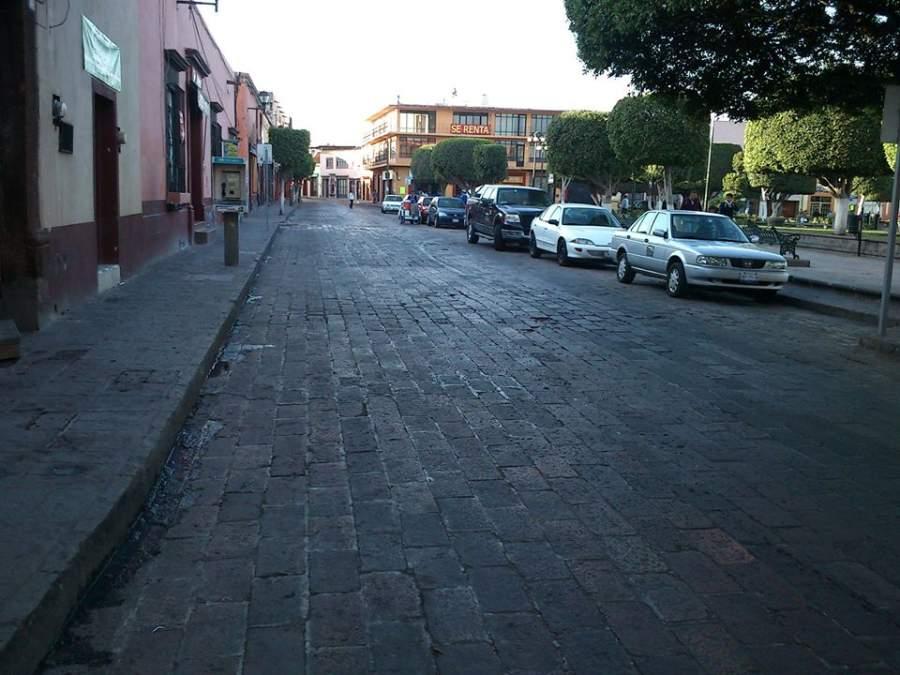 Recorre la Avenida Vicente Guerrero en San Juan del Río
