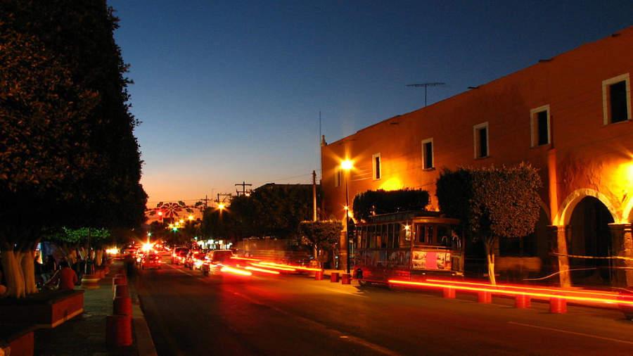 La Avenida Juárez en San Juan del Río formaba parte del Camino Real de Tierra Adentro