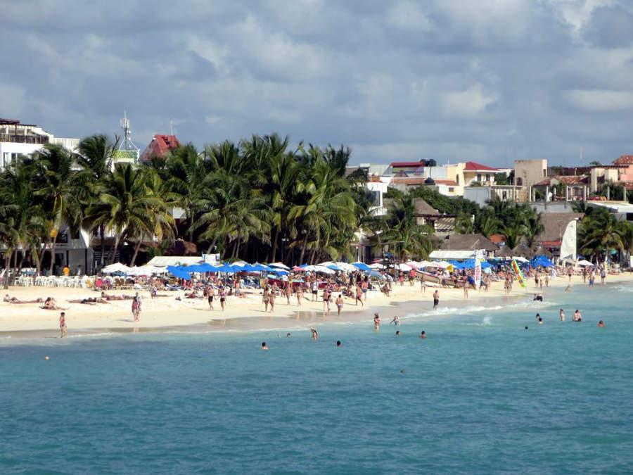 Playa del Carmen forma parte de la Riviera Maya