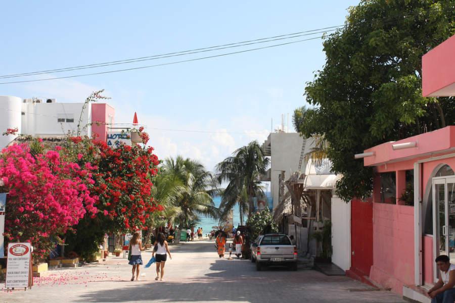 Playa del Carmen es ideal para recorrerse a pie