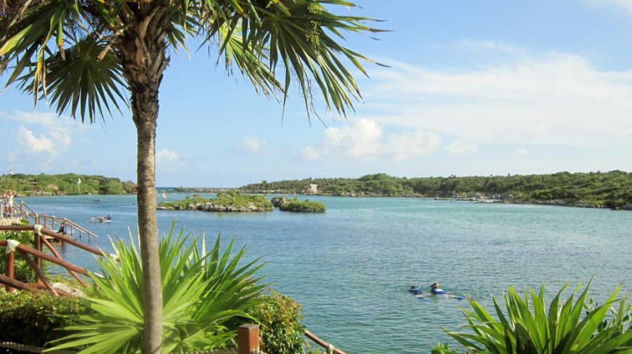 El parque Xel-Há está situado cerca de Playa del Carmen
