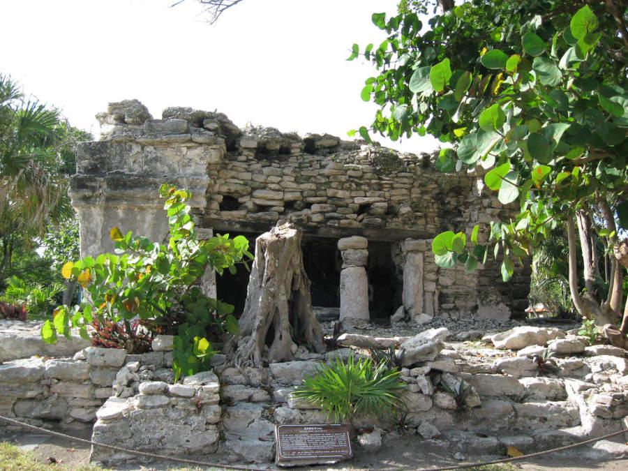Cerca de Playa del Carmen hay varias zonas arqueológicas