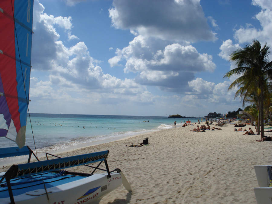 En Playa del Carmen se ofrecen diferentes actividades acuáticas