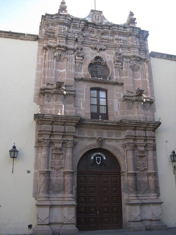 Edificio principal de la Universidad Juárez en la ciudad de Durango