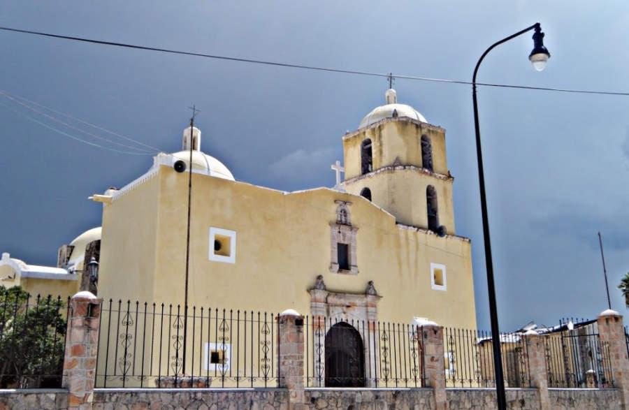 Vista exterior del Templo de San Antonio de Padúa