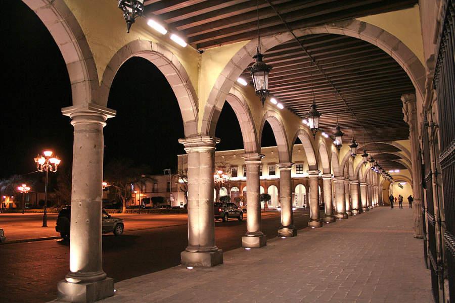 Portales de Zambrano en Durango