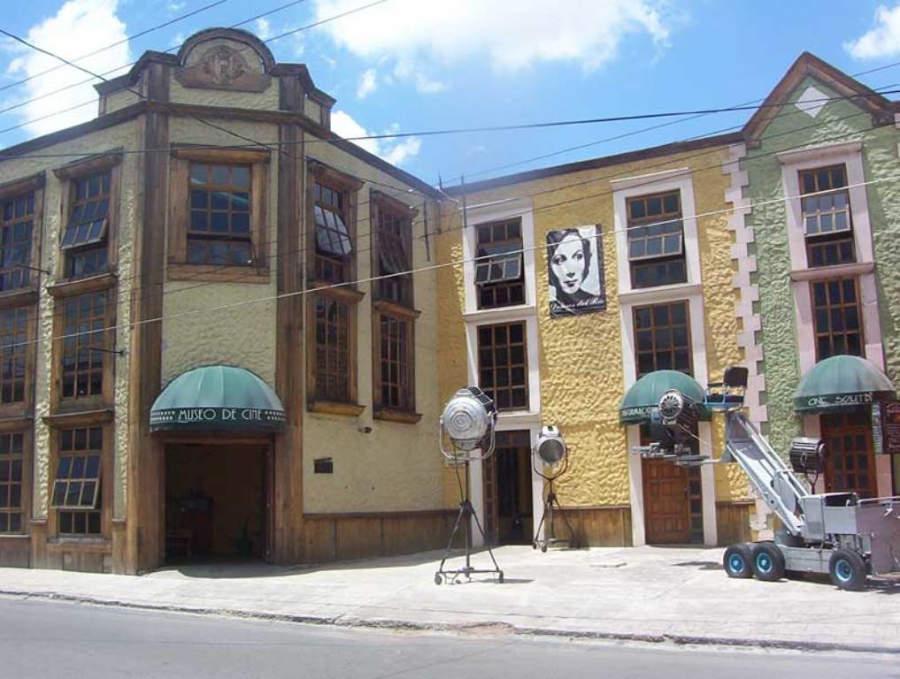 Exterior del Museo de Cine en Durango