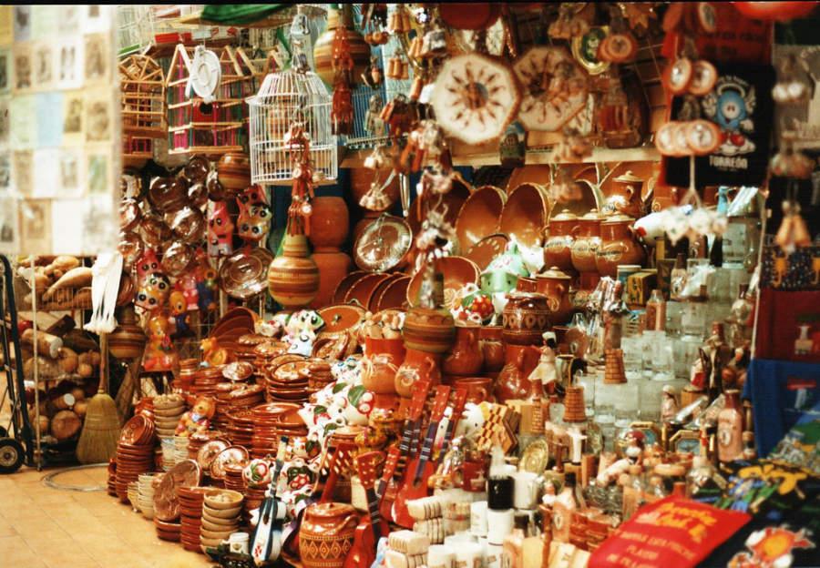 Visita el Mercado de Artesanías de Durango