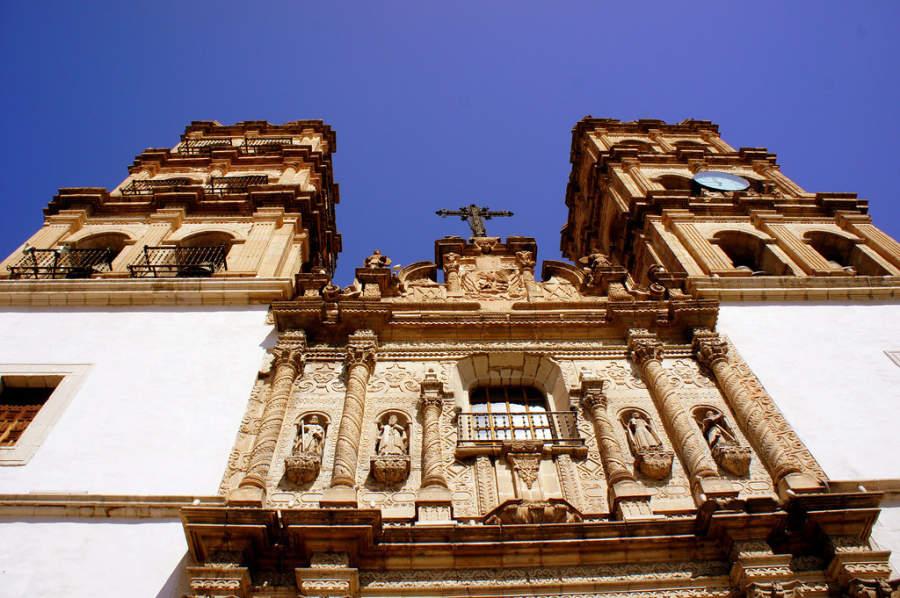 Fachada de la Catedral de Durango
